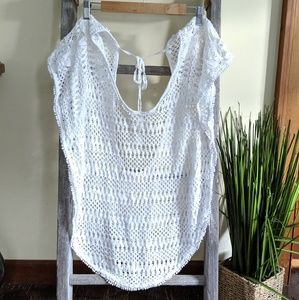 Victoria's secret crochet swim coverup